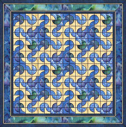 drunkards path pattern quilt variations the drunkard s path pattern virtual quilter