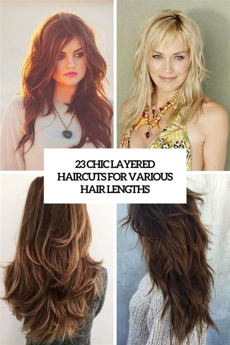 defined layered hairstyles 23 chic layered haircuts for various hair lengths