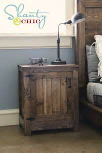 white kentwood nightstands or end tables diy projects
