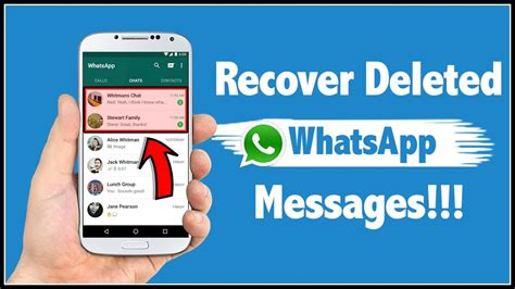 how to recover deleted messages on android how to recover deleted whatsapp messages in android phone
