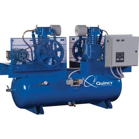 shipping quincy duplexair compressor  hp