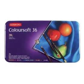 Premium Derwent Coloursoft 72 Pcs derwent coloursoft supplies finland