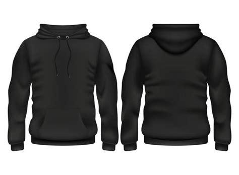 free hoodie template royalty free black hoodie clip vector images