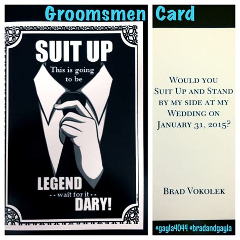 groomsmen thank you cards template best 25 ask groomsmen ideas on asking