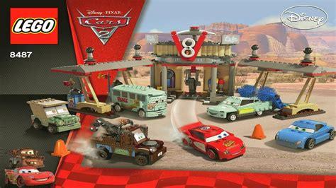 Lego 8487 Cars Flos V8 Cafe 8487 lego flo s v8 cafe booklet
