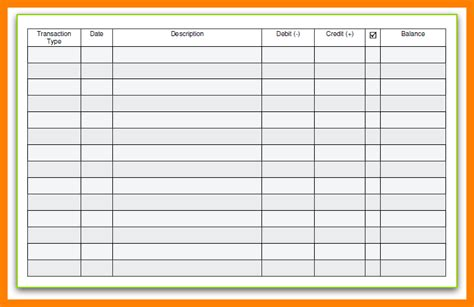 bank ledger template comfortable check log template ideas resume ideas