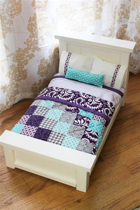 diy american girl doll bed diy doll beds and tiny quilts blogher