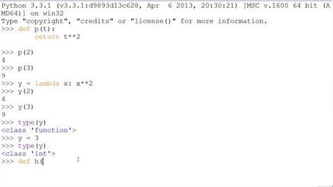 python tutorial def python 3 tutorial 17 lambda functions youtube