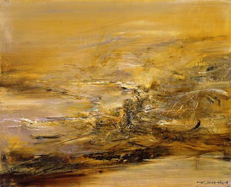 Artwork Titles by 赵无极 21 3 1964 羅芙奧台北2006秋季拍卖会 编号061