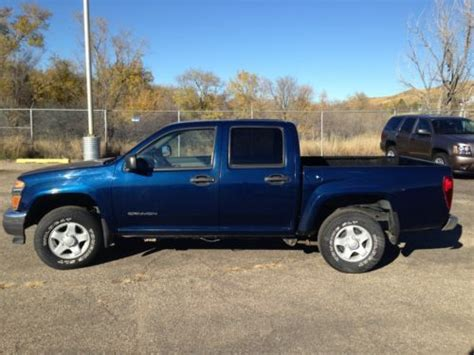 buy car manuals 2004 gmc canyon engine control buy used 2004 gmc canyon z71 sle crew cab 4x4 pickup 4 door 3 5l in pierre south dakota united