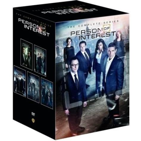 one complete person of interest the complete series seasons 1 5 2016