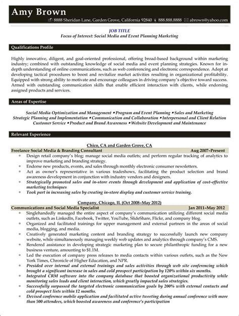 Media Resume Examples   Resume Samples   Resume examples