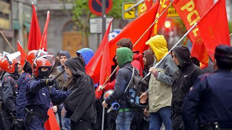 vasco incidente limitado apoyo a la huelga general convocada en euskadi y