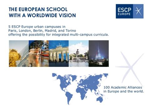 Escp International Mba by Escp Europe European Identity Global Perspective