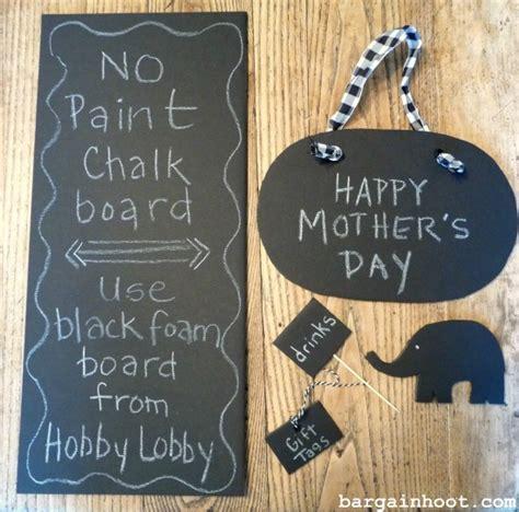 chalkboard paint yes or no easy no paint chalkboard use black foam board
