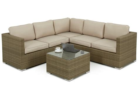 Sofa Sets by 4 5 Seater Rattan Corner Sofa Set Sofa Sets