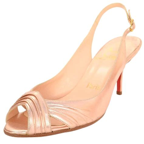F003 Fashion Chanel Sling Bag Jelly christian louboutin gold slingback peep toe pumps at