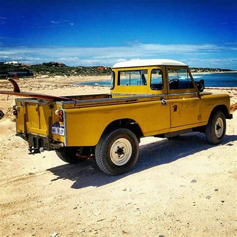 land rover yellow 25 best ideas about land cruiser pick up on pinterest