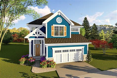 Two Story Craftsman House Plans by Craftsman Two Story House Plan 890058ah Architectural