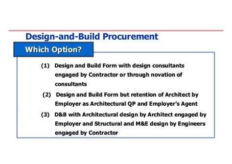 jct design and build lump sum contract 20080704 innovative approach in contracts and tender