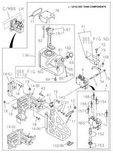 My Isuzu Parts Isuzu Def Tank And Piping