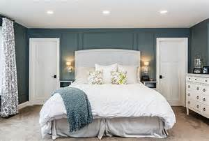 Master Bedroom Color Ideas by Family Home With Stylish Transitional Interiors Home