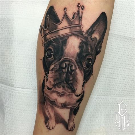 terrier tattoo designs the 10 coolest boston terrier designs in the world