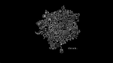 think on think wallpaper by x a i n on deviantart