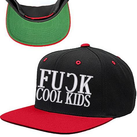 fu k cool snapback hat cool hat hats
