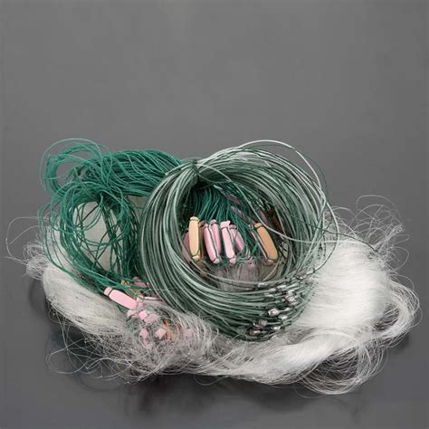 Float Line 25 M 25m 3 layers monofilament fishing fish gill net with float 11street malaysia other sports