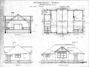 Floor Plan And Elevation Of A House kindergarten school section plan and elevations lindley training