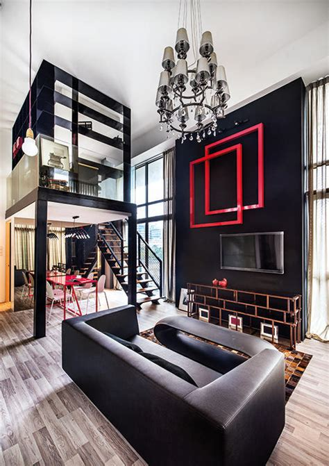 loft home decor 3 stylish lofts in singapore we d like to live in home