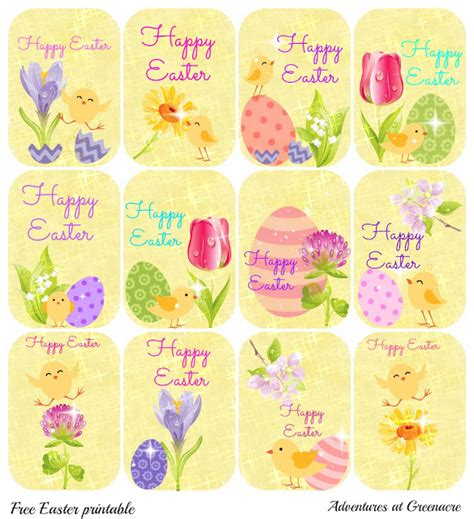 printable easter egg gift tags these cupcake toppers could also double for gift tags memes