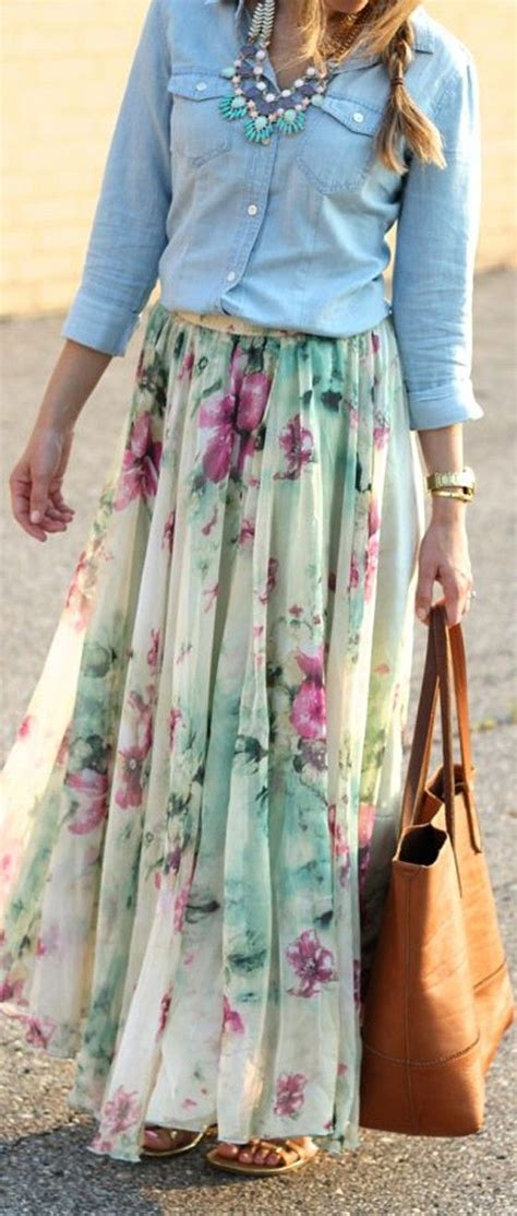 Hanbok Skirt Maxi Floral 25 best ideas about floral maxi skirts on
