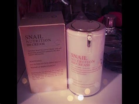 Skin 79 Snail Nutrition skin 79 snail nutrition bb review demo