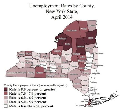 Ny Unemployment Office by New York Unemployment Rates In April Where Does Your