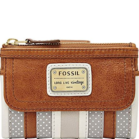 Wallet Fossil Xh1827 29 fossil emory multifunction gry wht wallet reviews