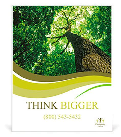 Forest Trees Nature Green Wood Sunlight Backgrounds Poster Template Design Id 0000009899 Tree Poster Template