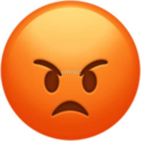 imagenes de emoji enojado pegatinas 171 emoji enojado 187 de emoji2 redbubble