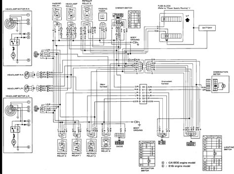 1994 nissan sentra wiring diagram radio wiring diagram