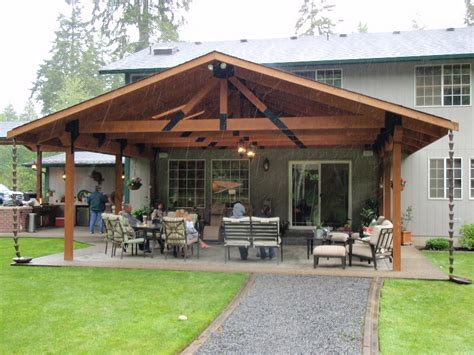 Patio Construction Ideas by Outbuildings