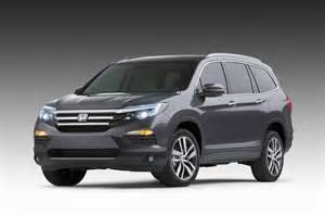When Will The 2016 Honda Pilot Be Available 2016 Honda Pilot Revealed At 2015 Chicago Auto Show Live