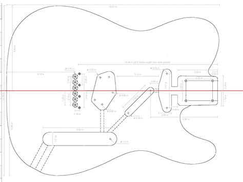 fender telecaster guitar templates electric herald