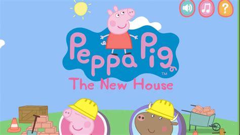 peppa pig new house bat and