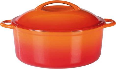 guss kochtopf gsw kochtopf gusseisen induktion 187 orange shadow 171