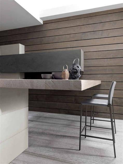 Concrete And Wood Kitchen by Industrial Chic Twenty Cemento Kitchen From Modulnova