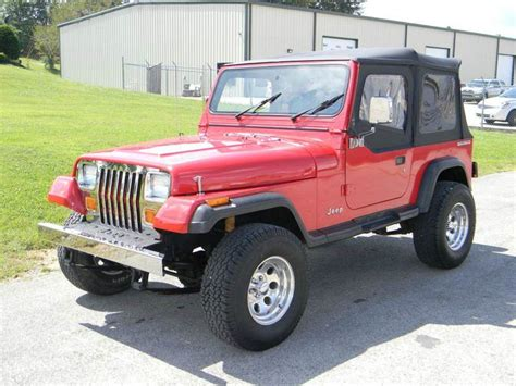 1990 Jeep Wrangler For Sale 1990 Jeep Wrangler For Sale Carsforsale