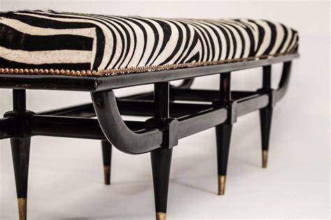 zebra benches mid century italian zebra bench for sale at 1stdibs