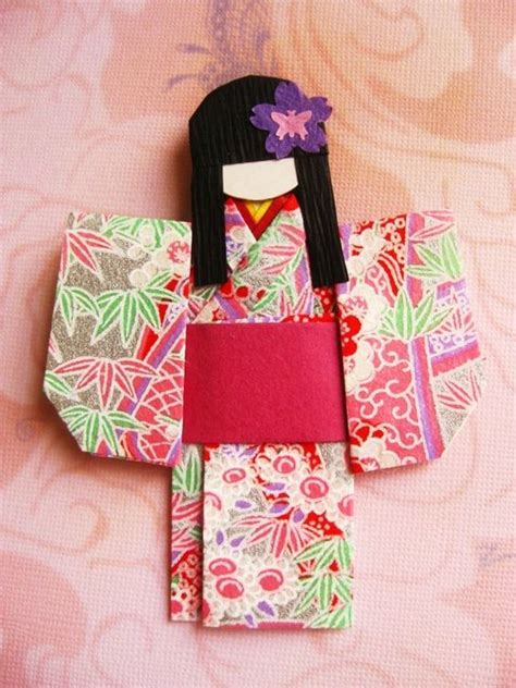 Origami Japanese Doll - japanese origami paper doll mariko origami paper my