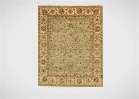 Patterned Rugs Sarouk Fereghan Rug Green Ivory Traditional Patterned Rugs